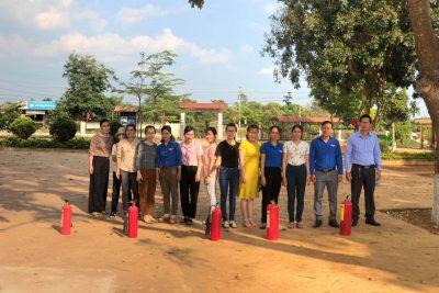 Tập huấn PC-CC trường TH Trần Cao Vân