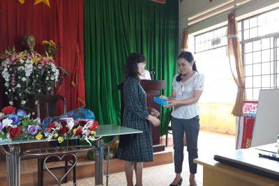 Lễ chia tay cô giáo Phạm Thị Thúy Vân thuyên chuyển công tác và giao lưu bóng chuyền