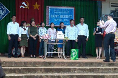 Sinh nhật quí 3 cho cán bộ – giáo viên – nhân viên