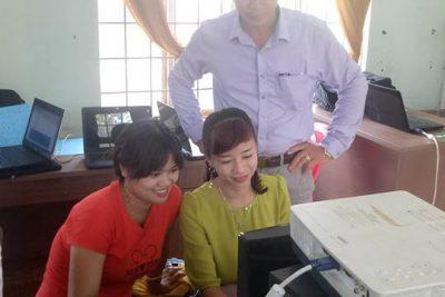 tập huấn trường TH Trần Cao Vân