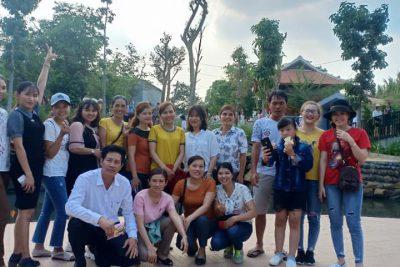 Tổ chức cho giáo viên tham quan dã ngoại ngày 08/03/2019 và tổ chức sinh nhật quý I cho các CB – GV – NV
